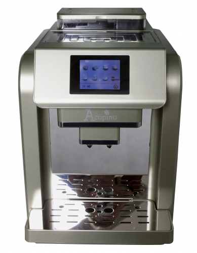 Acopino Monza One-Touch Kaffeevollautomat, champagner